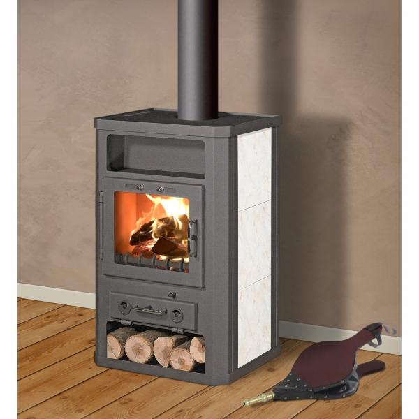 Comfort ceramic 11 houtkachel